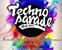 Techno Parade - Artbar 16.2.2018