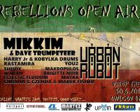 Rebellions Open Air - Uničov 30.6.2018
