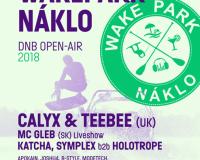 Wake Park Náklo DNB OPEN-AIR, 13.7.2018
